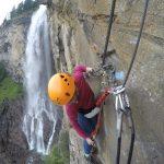 Aufstieg Fallbach Klettersteig