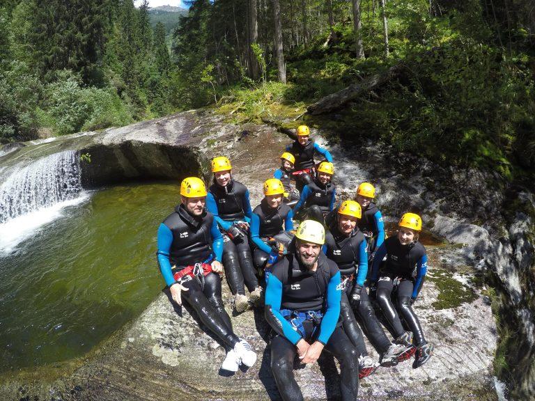 Canyoning Teilnehmer
