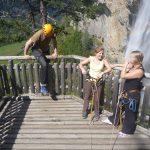 Aussichtsplattform Klettersteig
