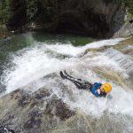 Canyoning Wasserrutschen