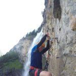 Kletterwand Fallbach