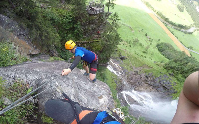 Klettersteig mit Aussichtsplattform